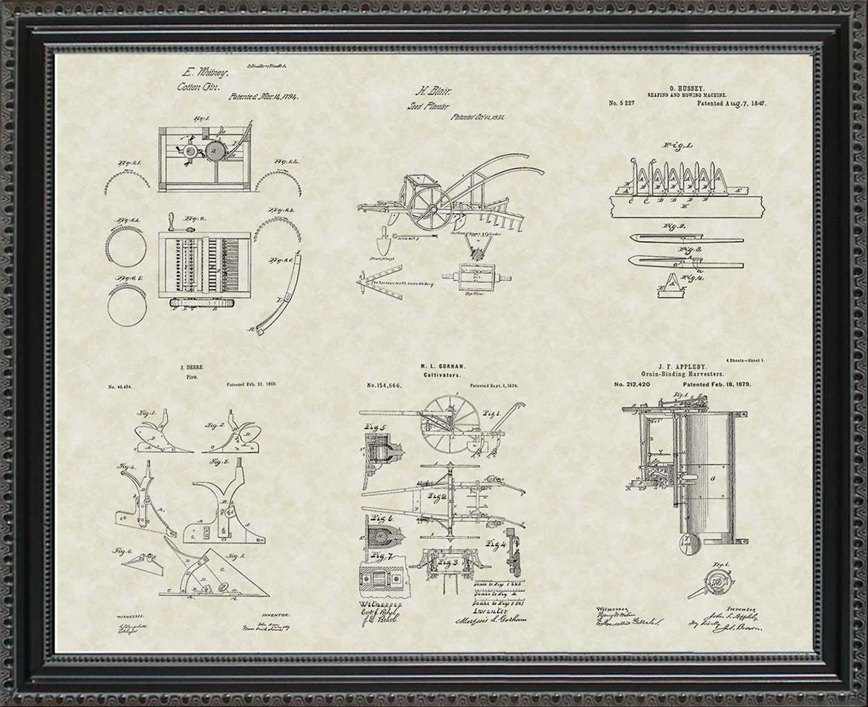 Farming Patents, 20x24
