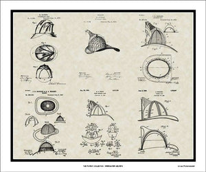 Firefighter Helmets Patents, 20x24