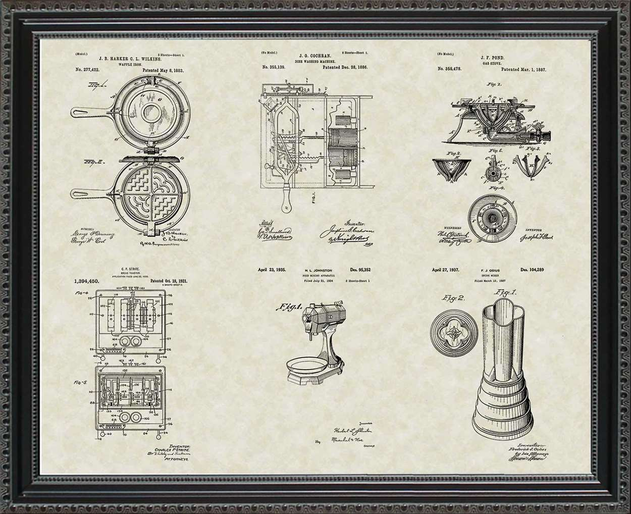Kitchen & Household Patents, 20x24
