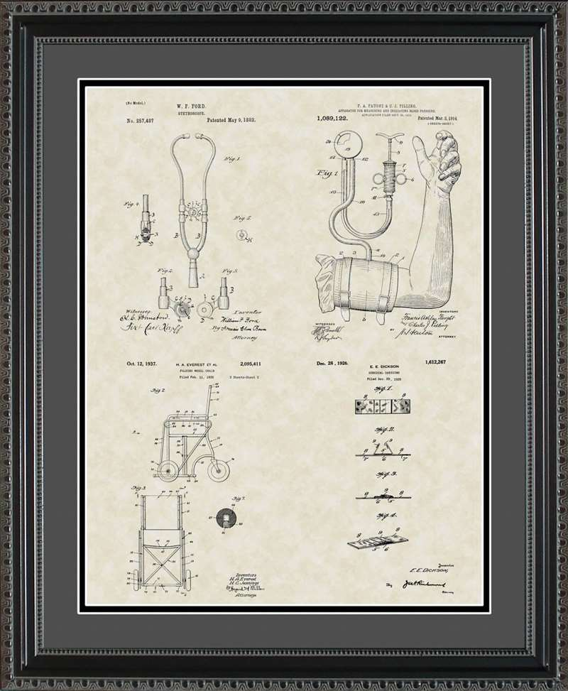 Medical Device Patents, 16x20