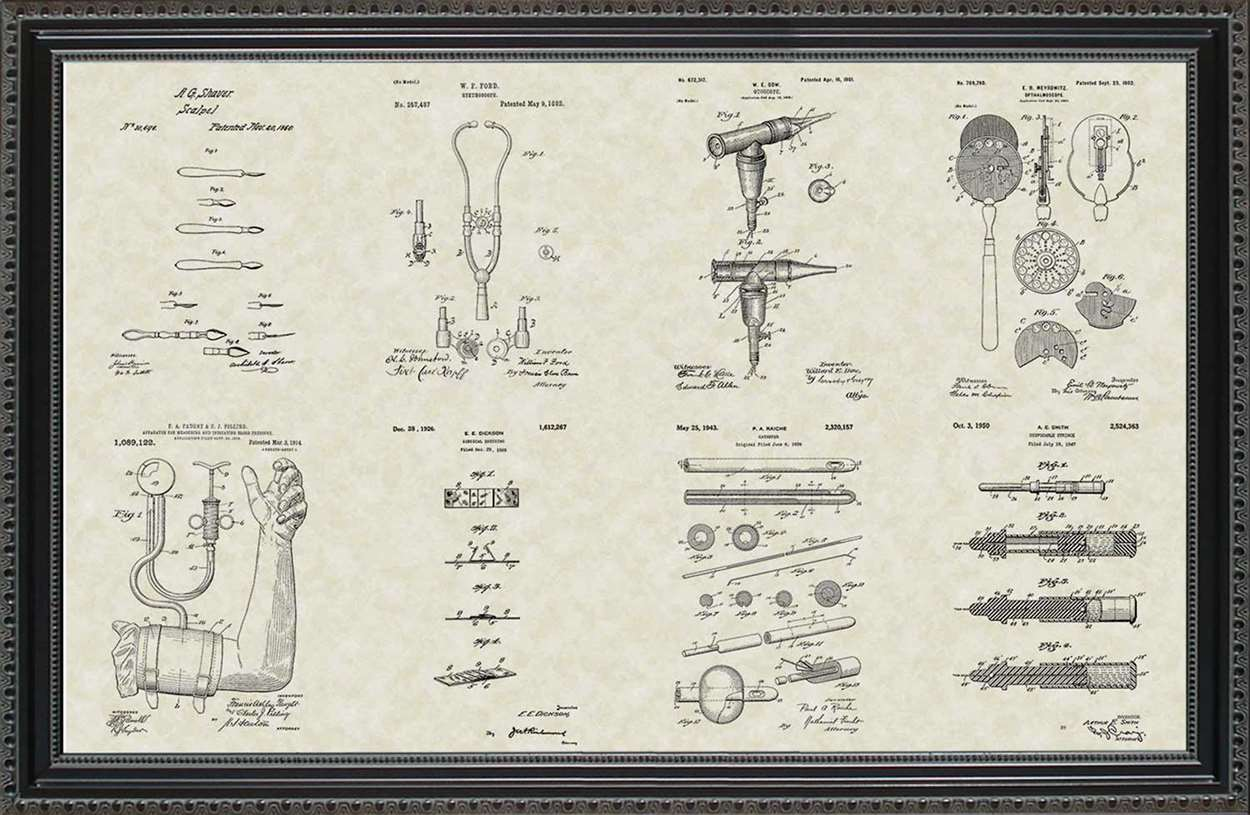Medical Device Patents, 20x30