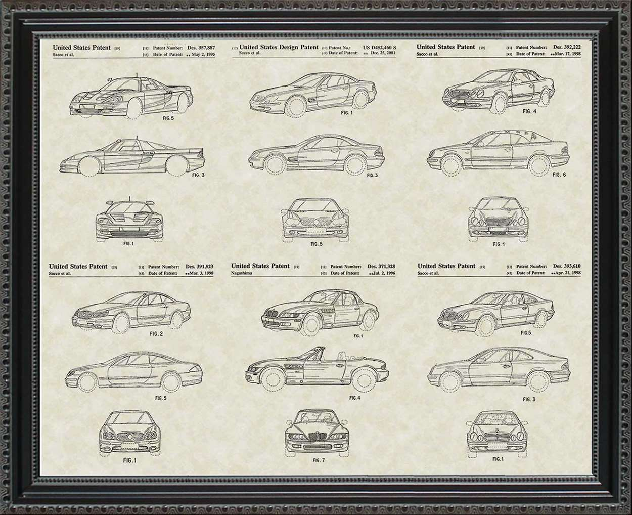 Mercedes-Benz Patents, 20x24