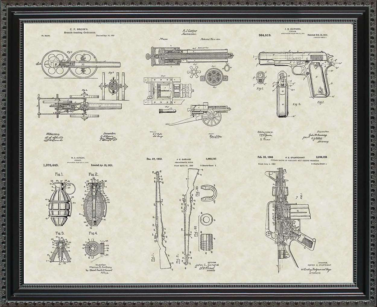 Military Equipment Patents, 20x24
