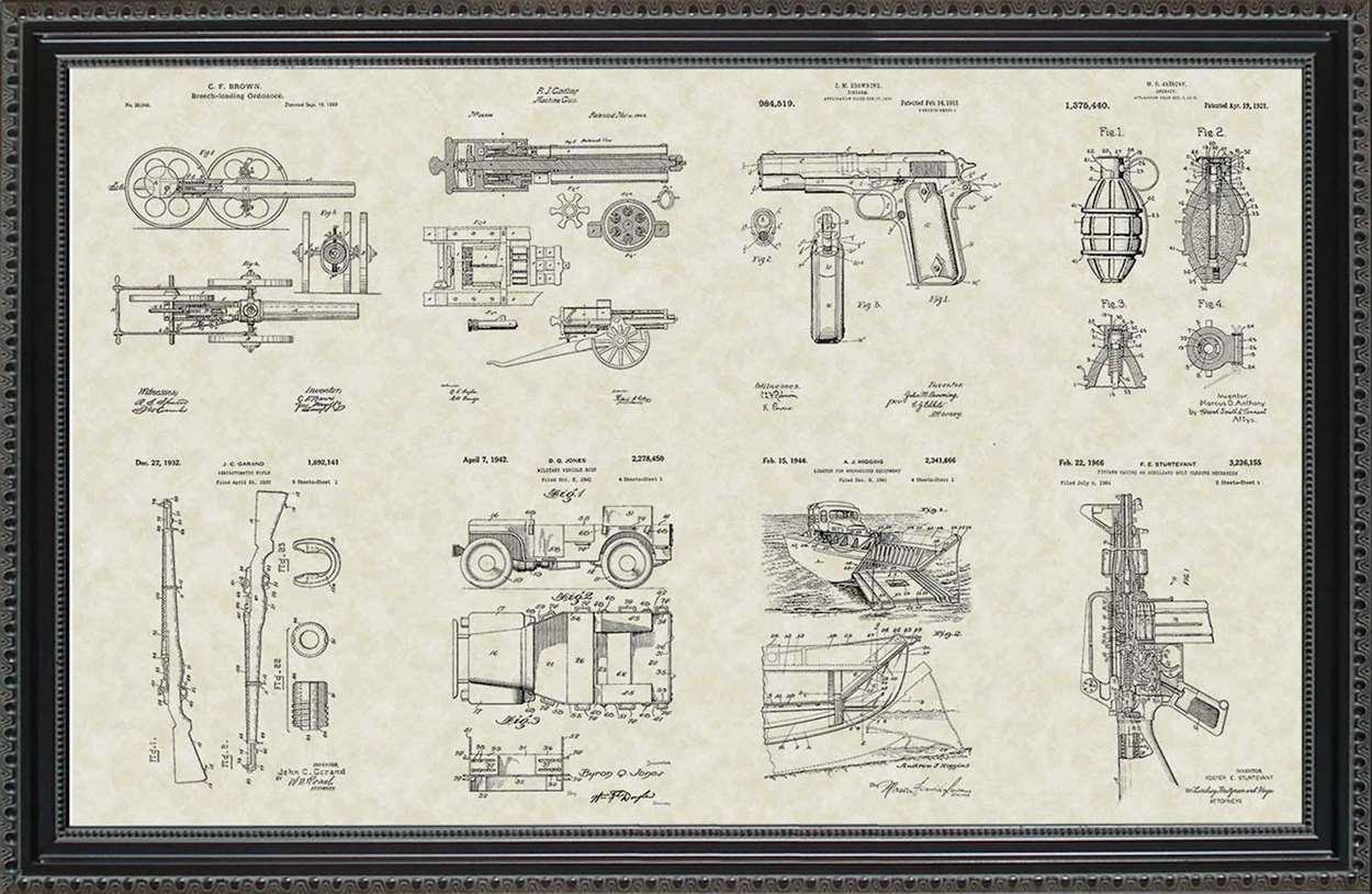 Military Equipment Patents, 20x30