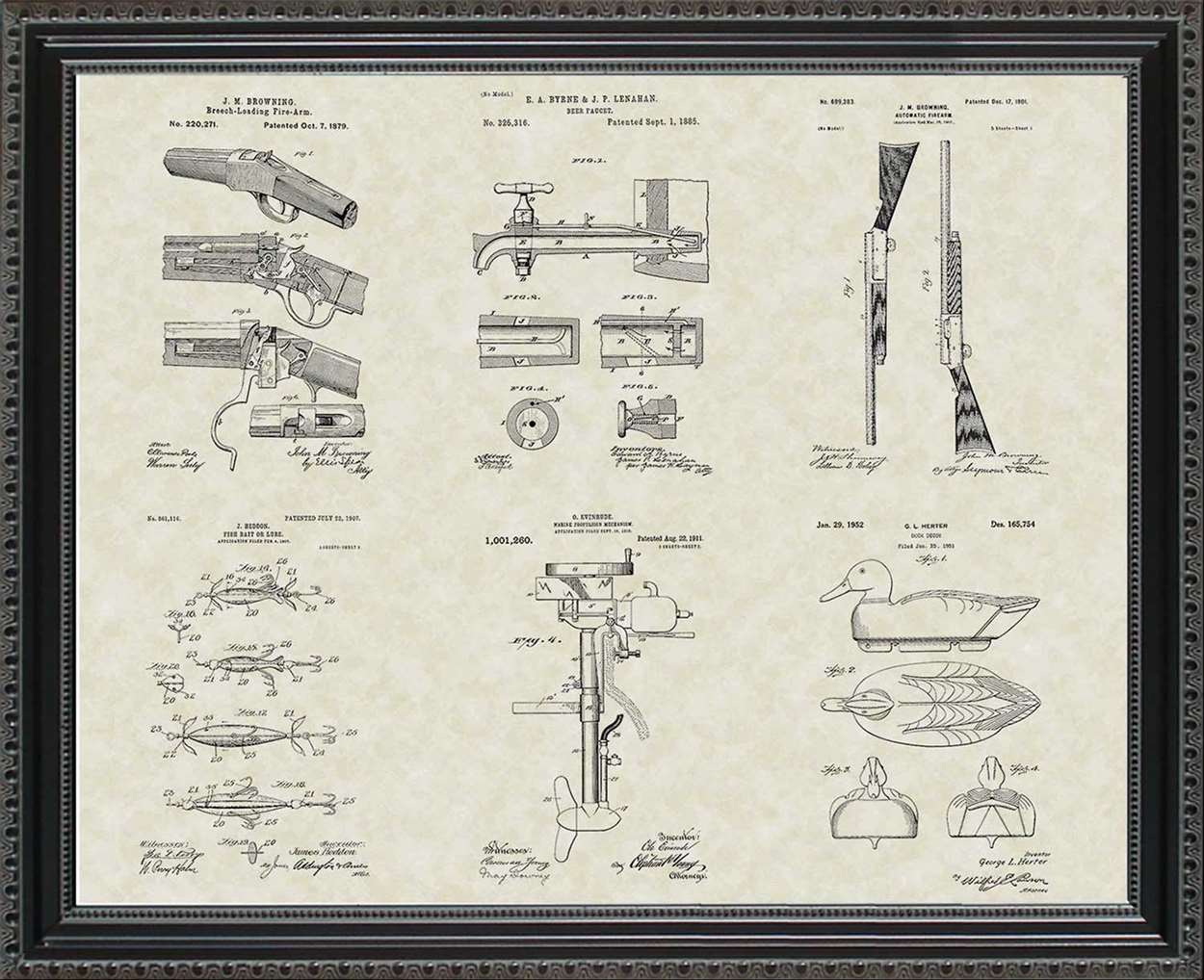 Sportsman & Outdoors Patents, 20x24