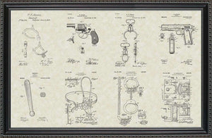 Police & Detective Equipment Patents, 20x30