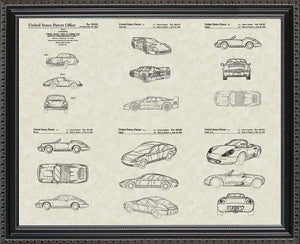Porsche Patents, 20x24