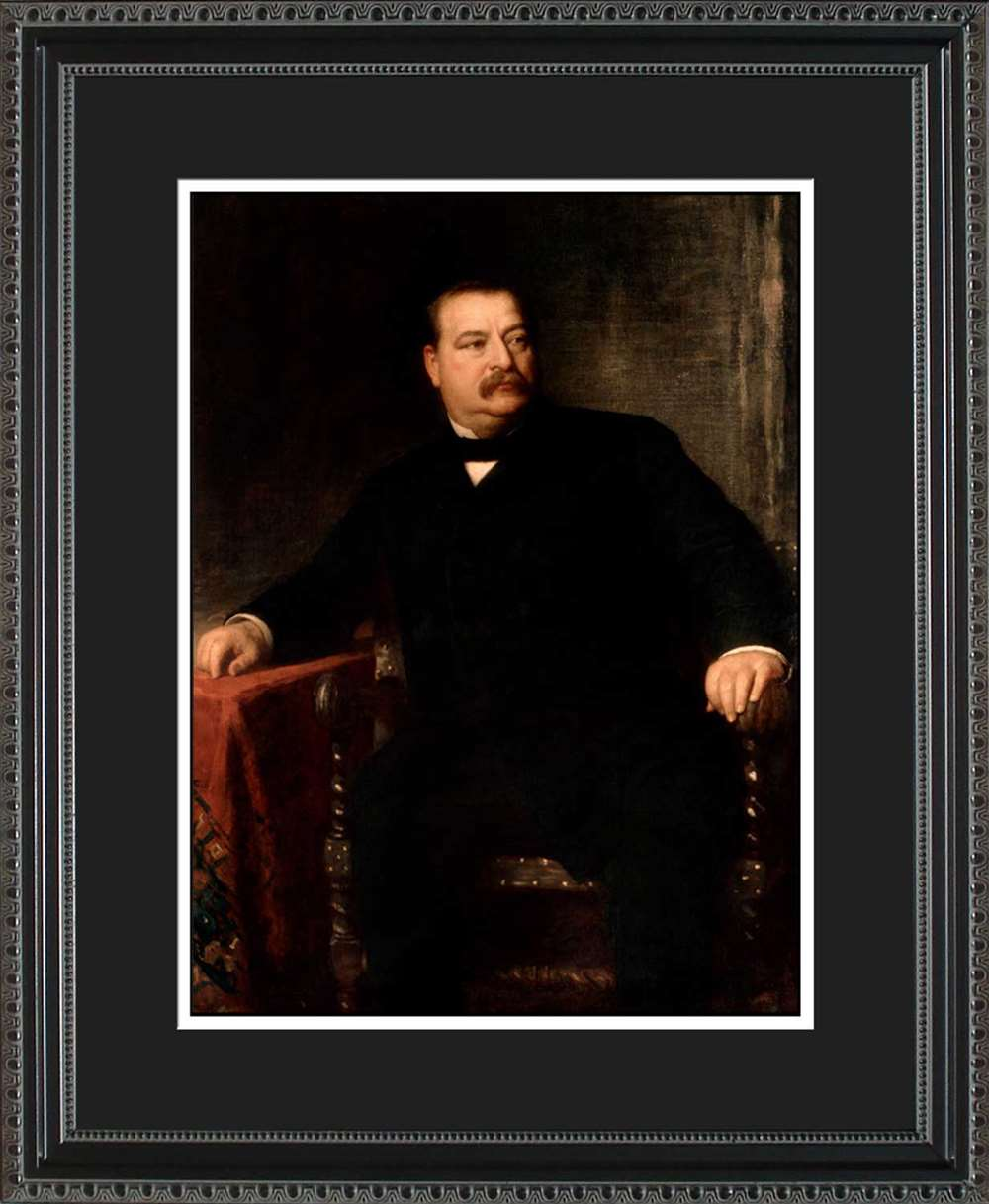 Grover Cleveland Official President Portrait, 16x20