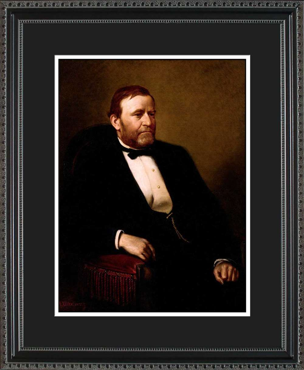 Ulysses S. Grant Official President Portrait, 16x20