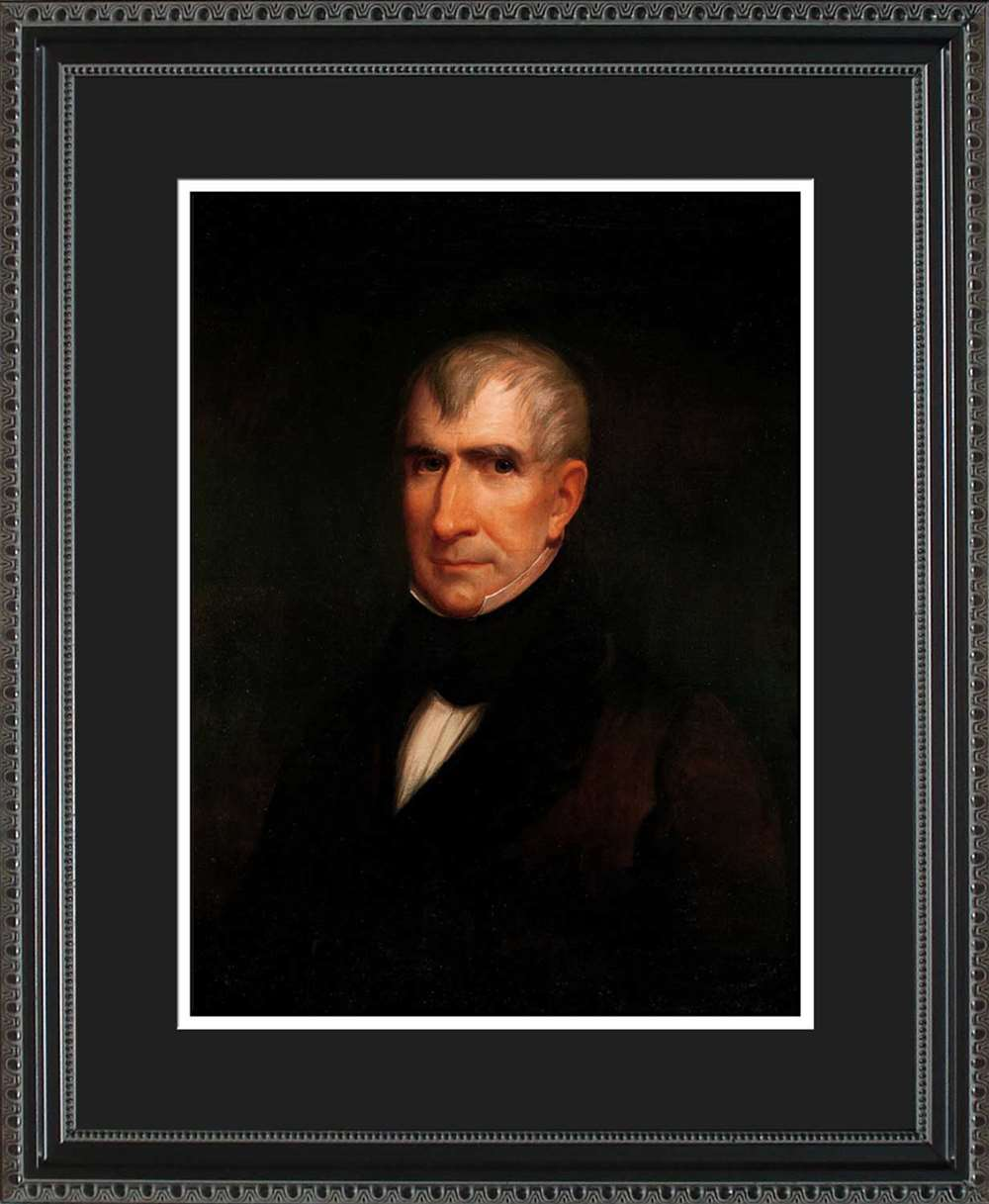 William Henry Harrison Official President Portrait, 16x20