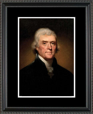 Thomas Jefferson Portrait, 16x20