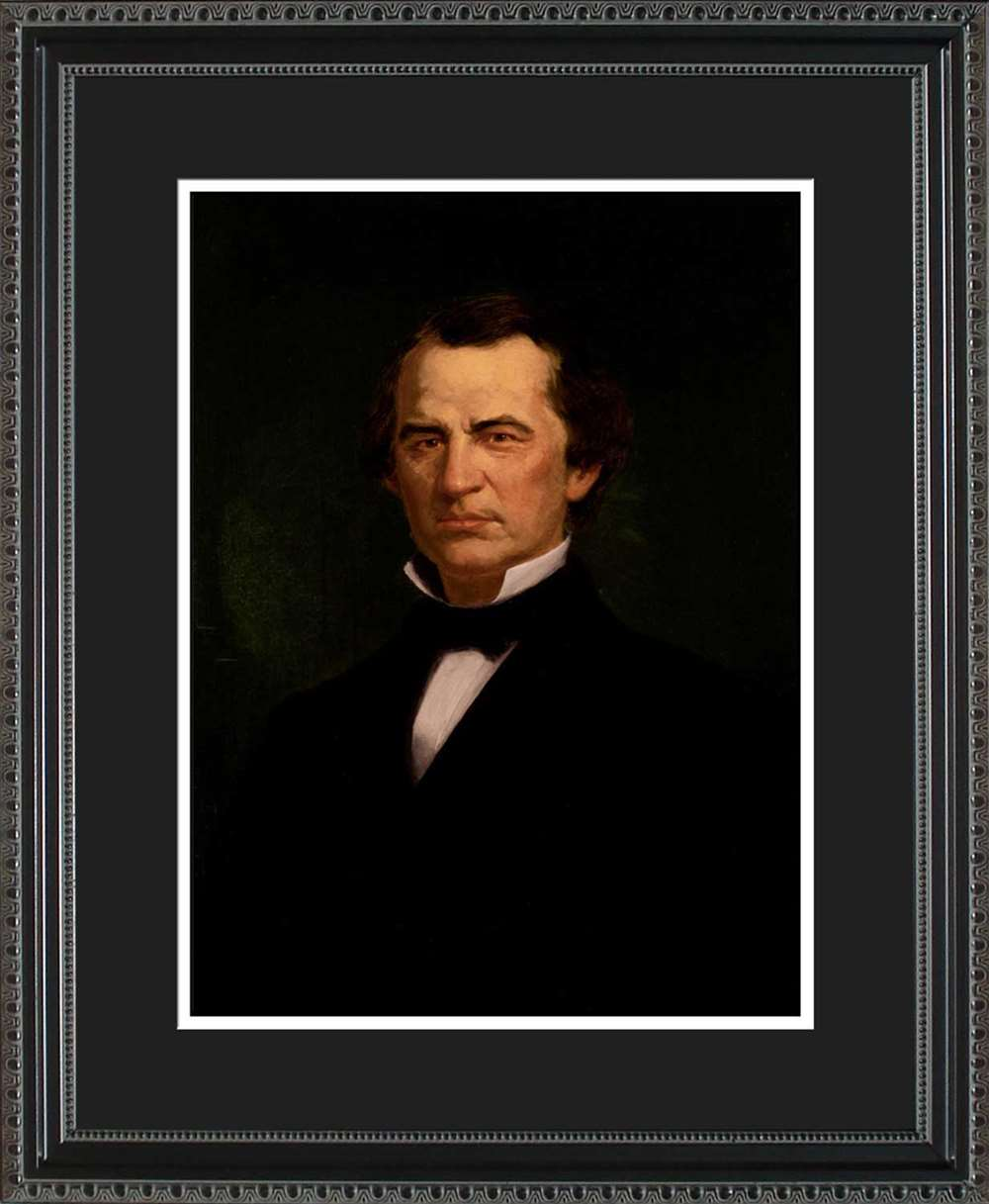 Andrew Johnson Official President Portrait, 16x20