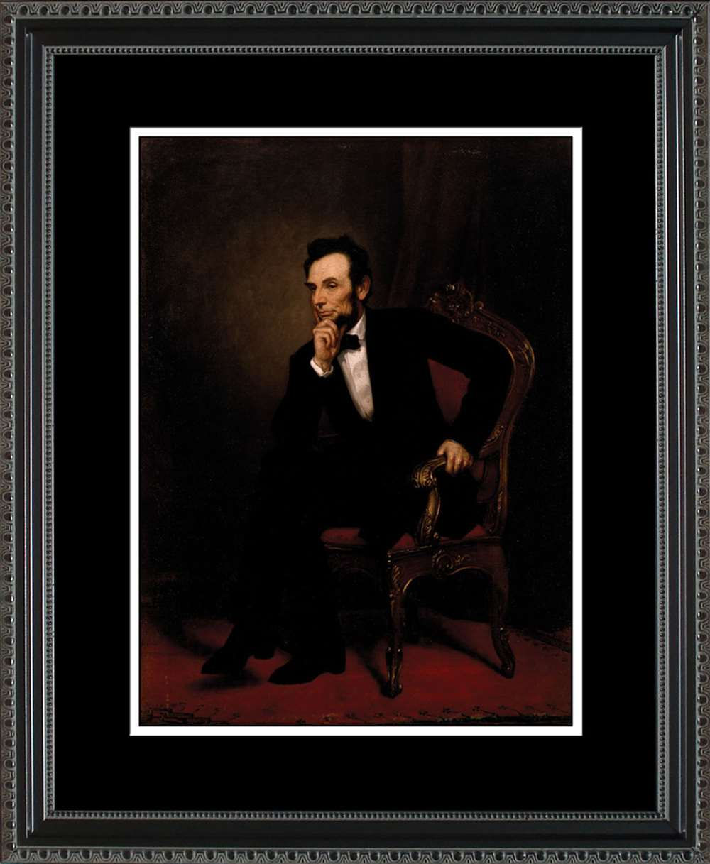 Abraham Lincoln Official Portrait, 16x20