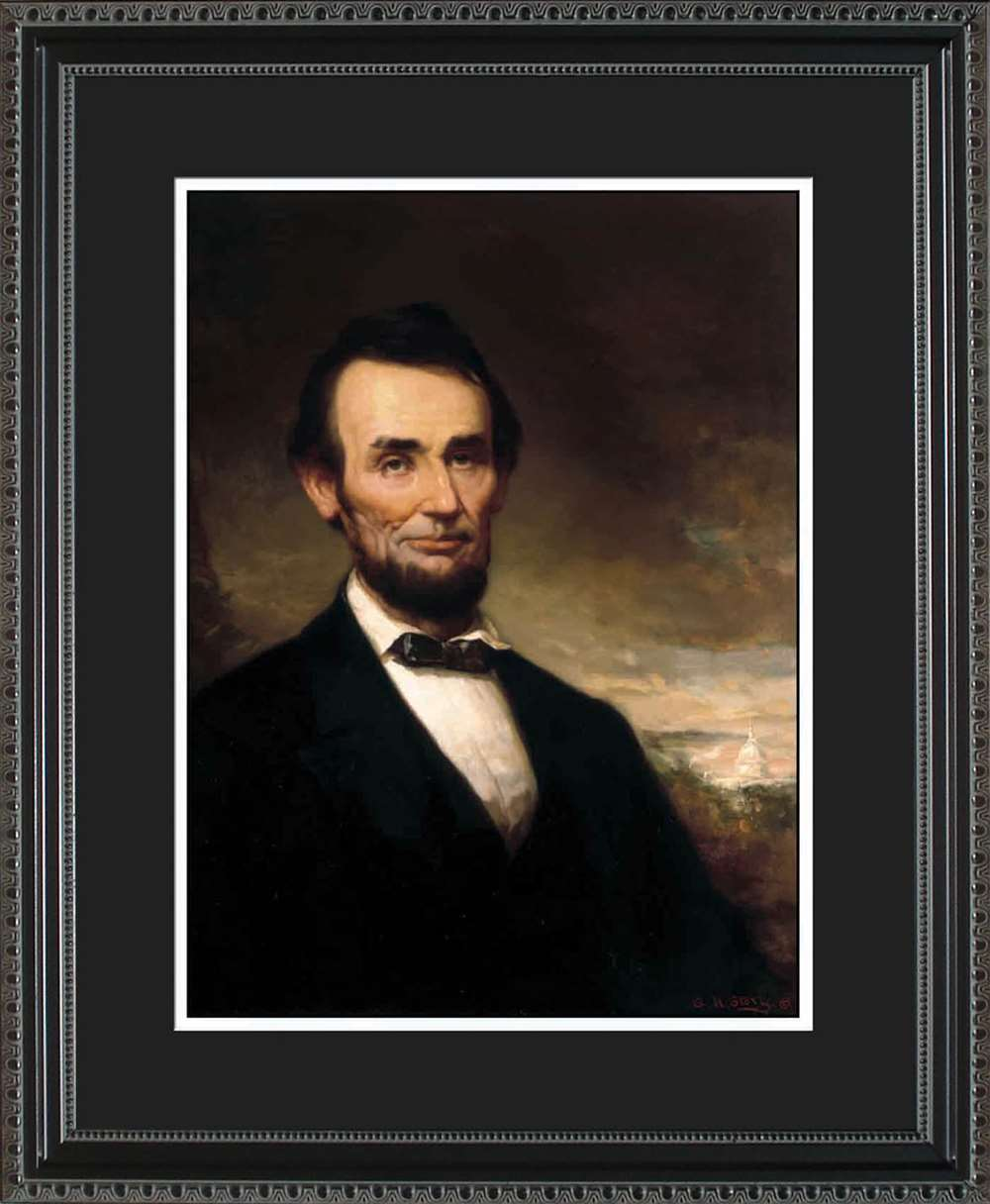 Abraham Lincoln Portrait, 16x20