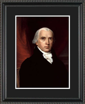 James Madison Official President Portrait, 16x20