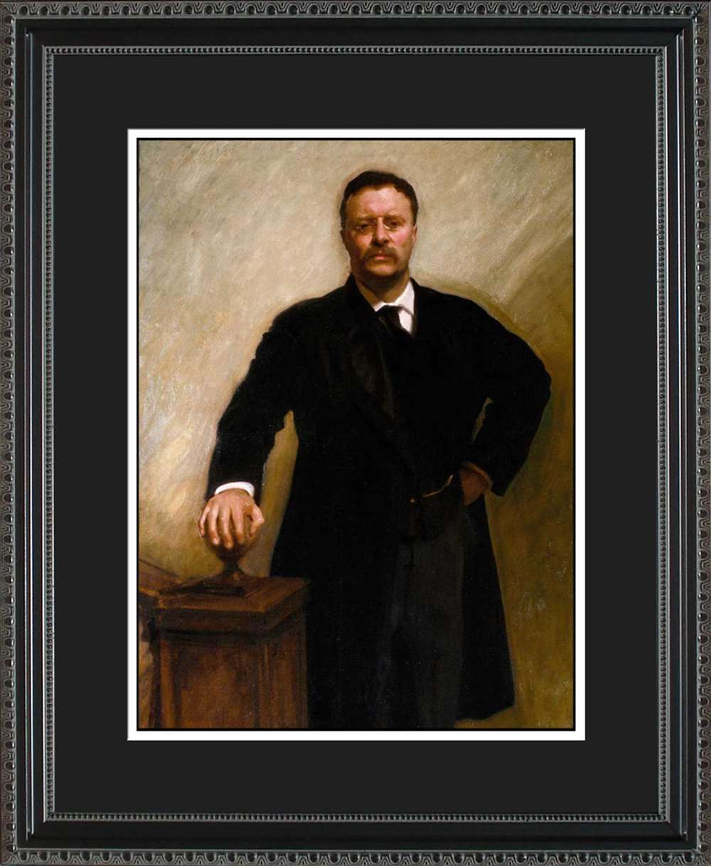 Theodore Roosevelt Official President Portrait, 16x20