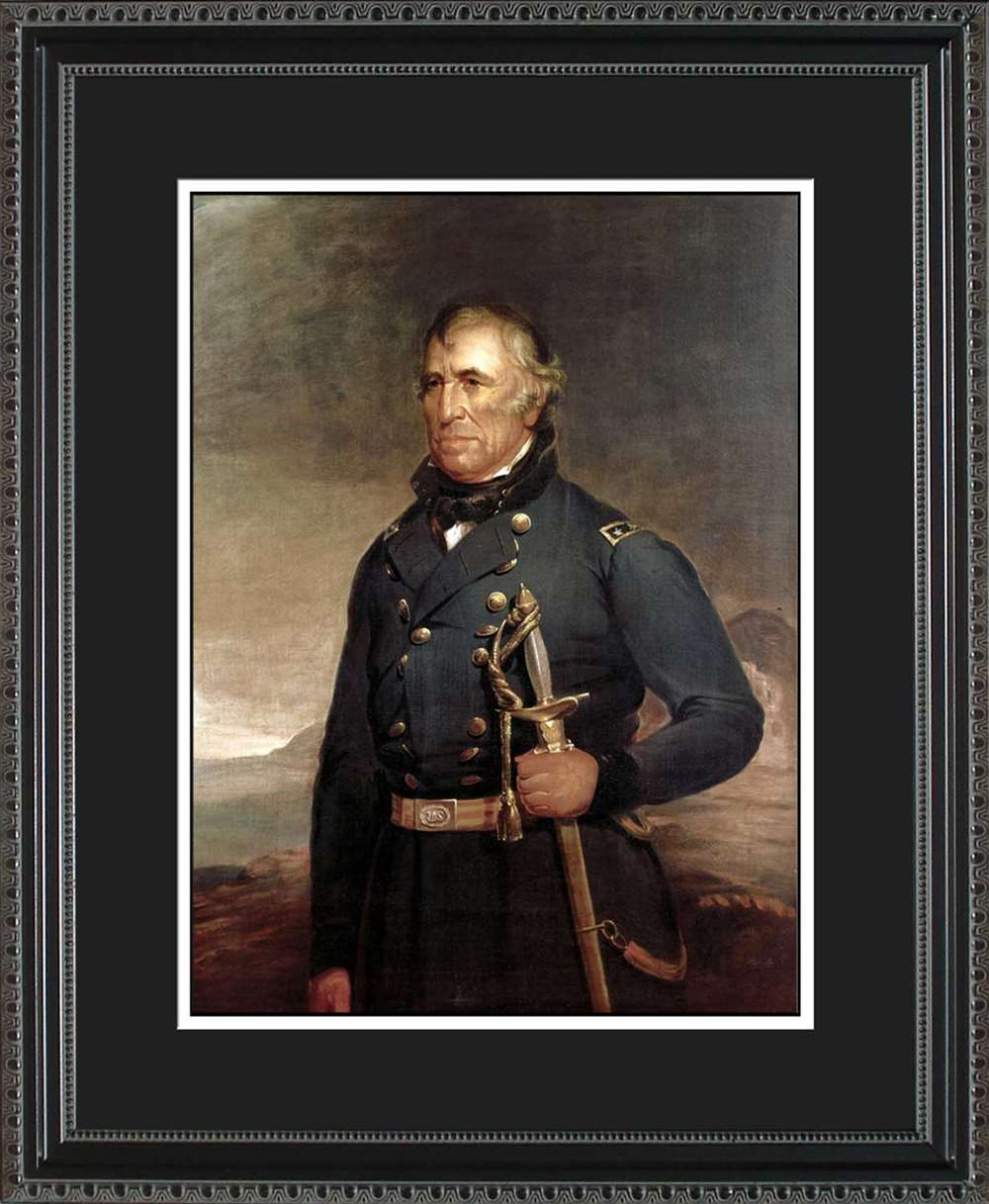 Zachary Taylor Official President Portrait, 16x20