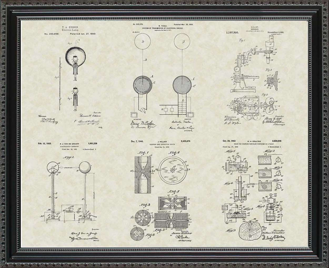 Key Scientific Invention Patents, 20x24