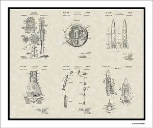 Space Patents, 20x24