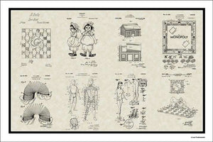 Toys & Game Patents, 20x30