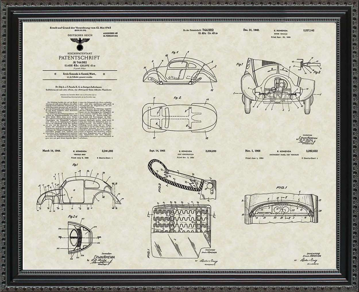 Volkswagen Patents, 20x24