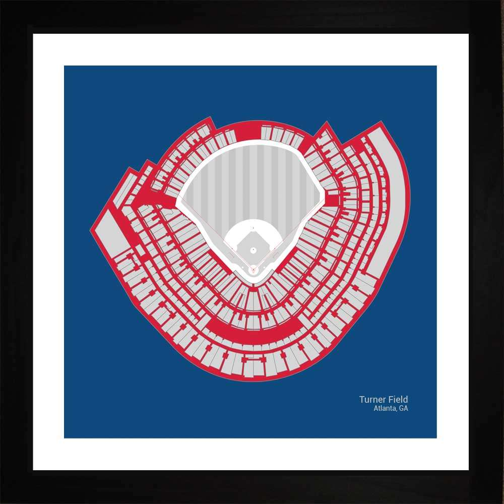 Turner Field, Atlanta Braves, 16x16