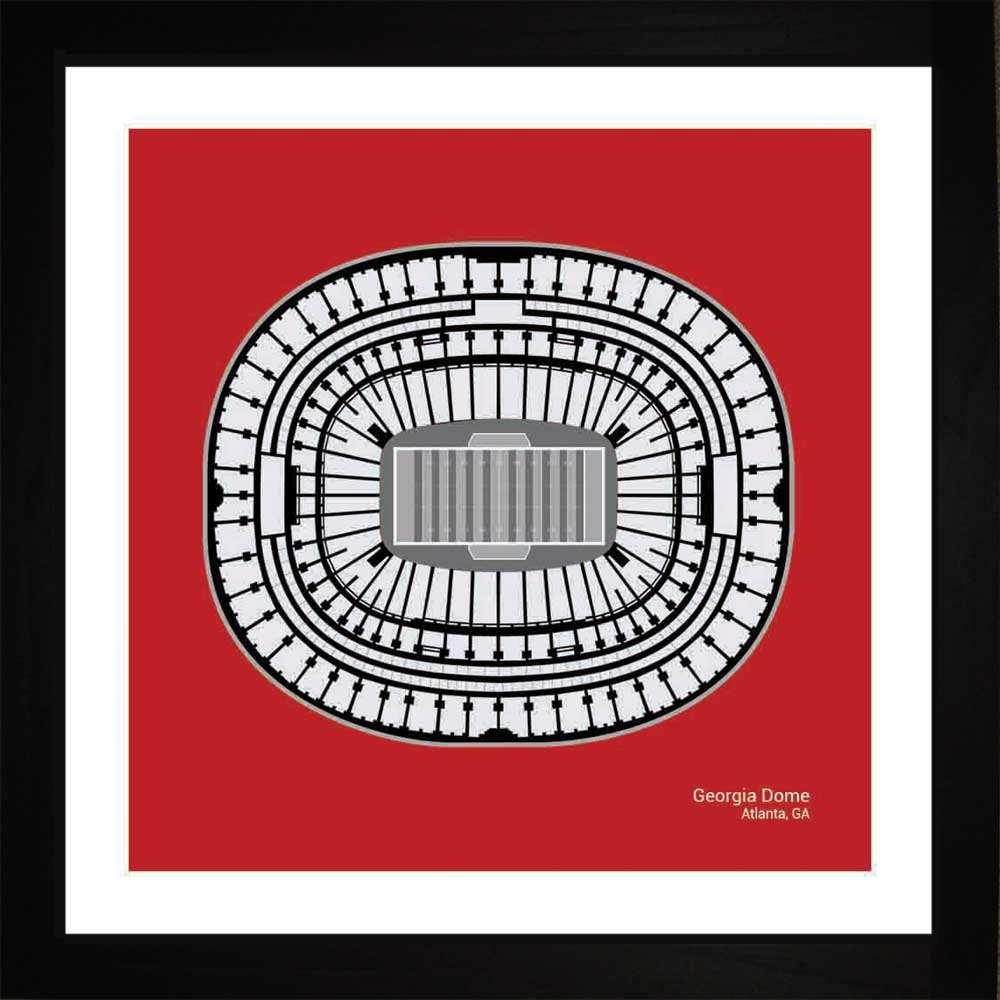 Georgia Dome, Atlanta Falcons, 16x16
