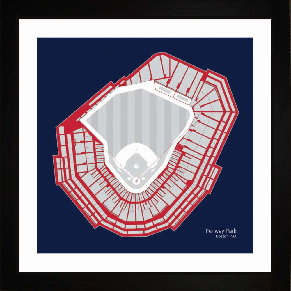 Fenway Park, Boston Red Sox, 16x16