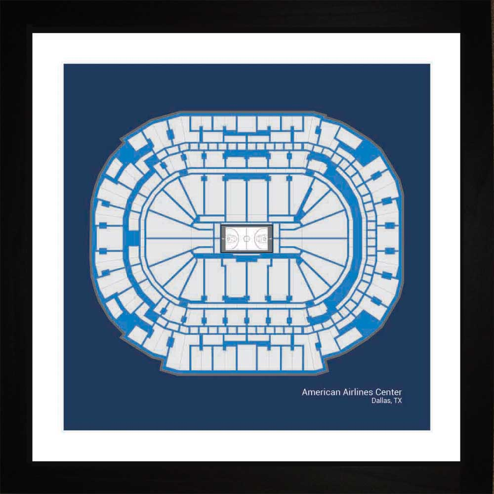 American Airlines Center, Dallas Mavericks, 16x16