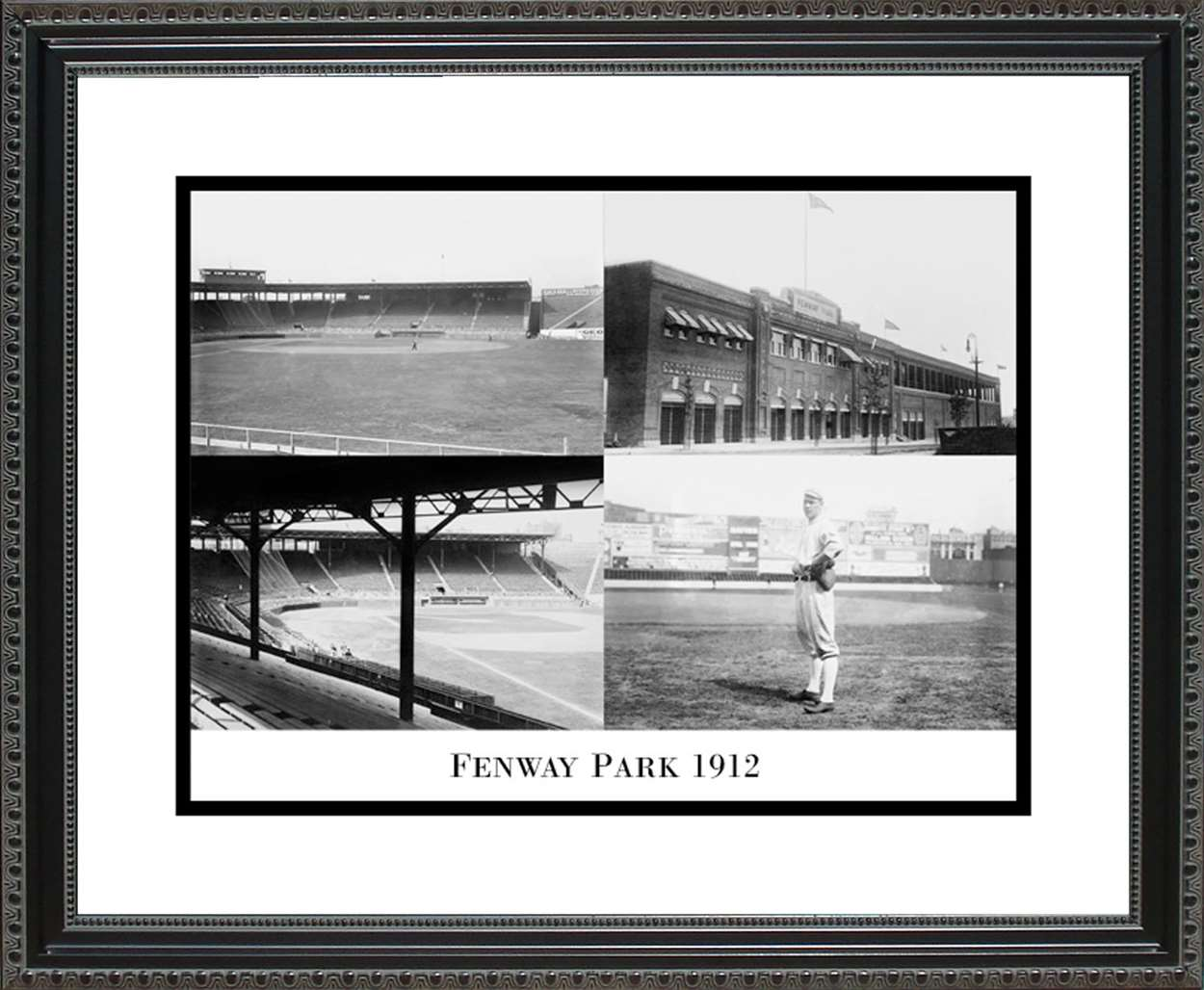 Fenway Park Collage, 16x20