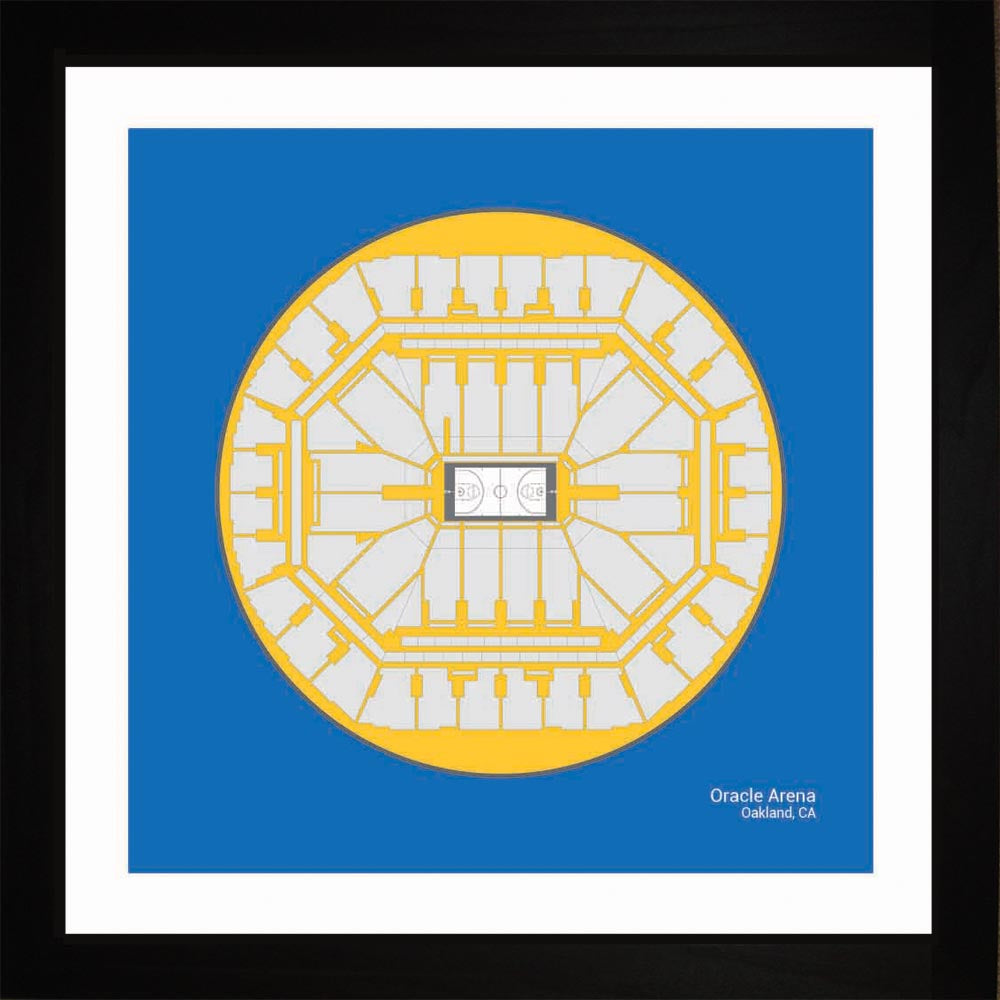 Oracle Arena, Golden State Warriors, 16x16