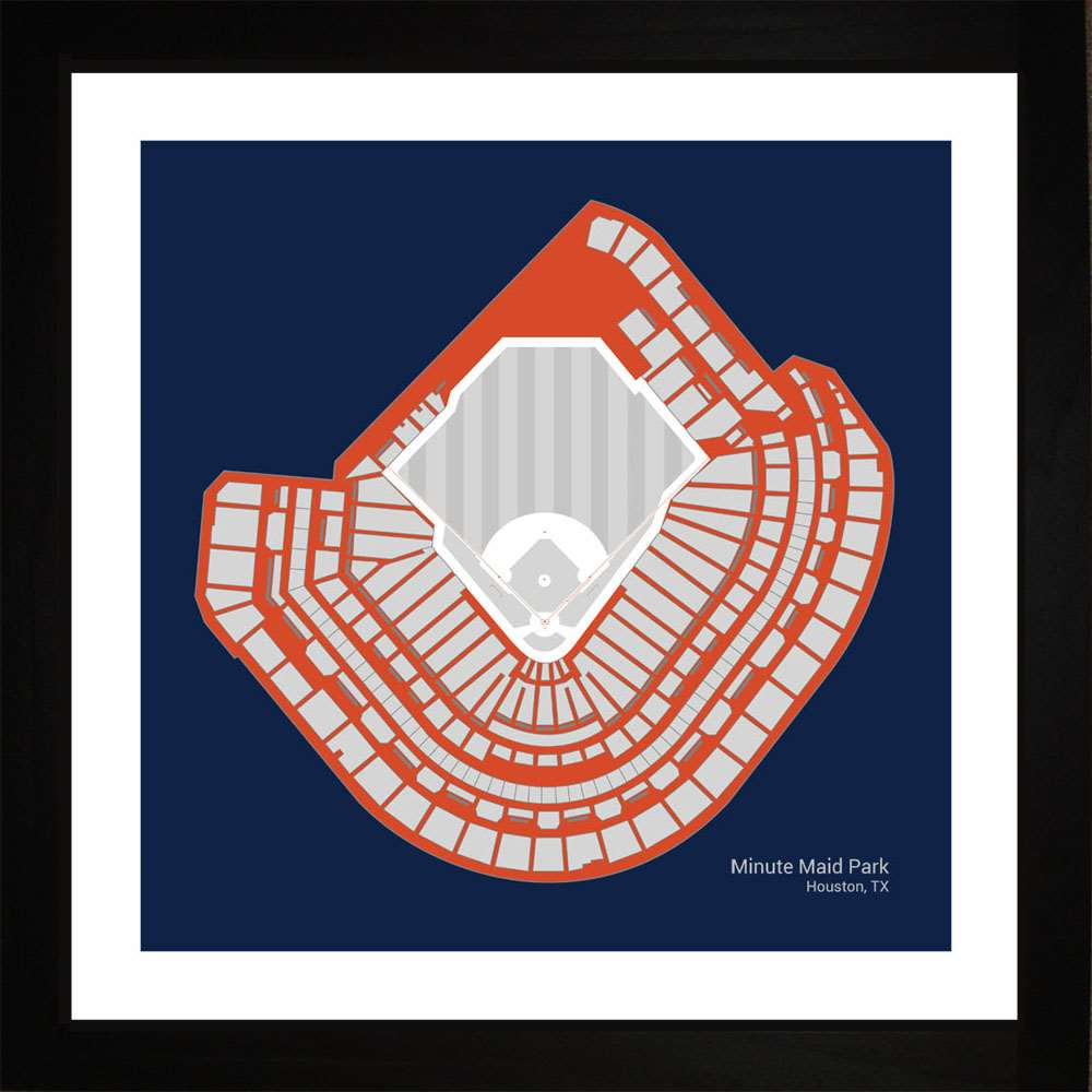 Minute Maid Park, Houston Astros, 16x16