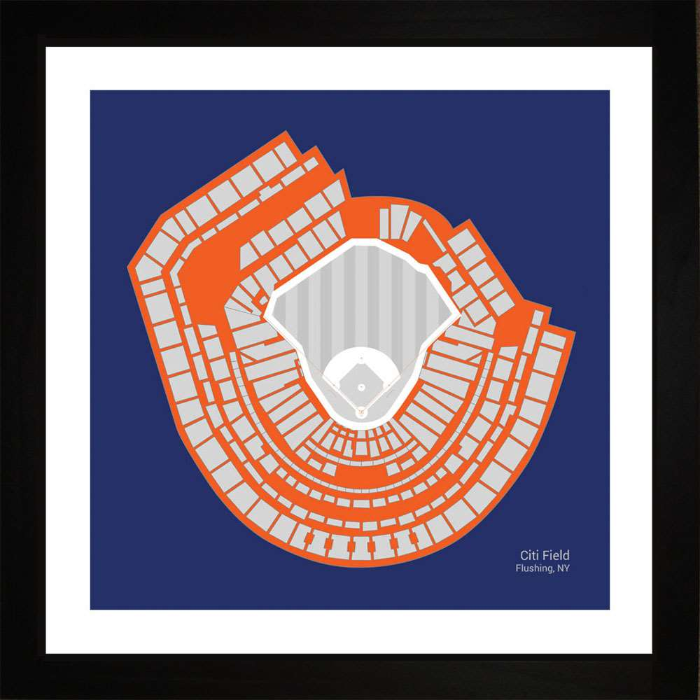 Citi Field, New York Mets, 16x16