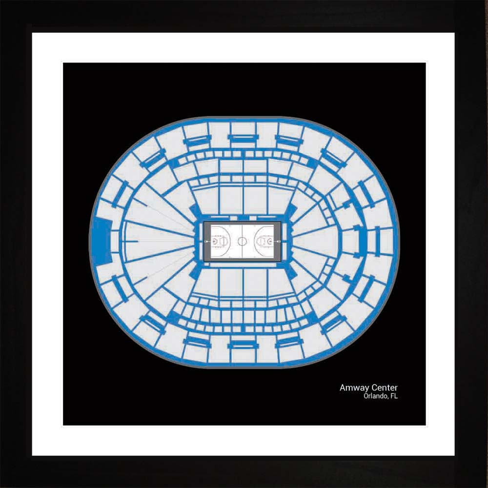 Amway Center, Orlando Magic, 16x16