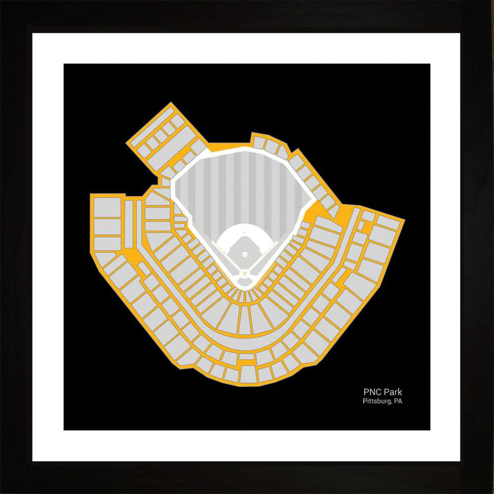 PNC Park, Pittsburgh Pirates, 16x16