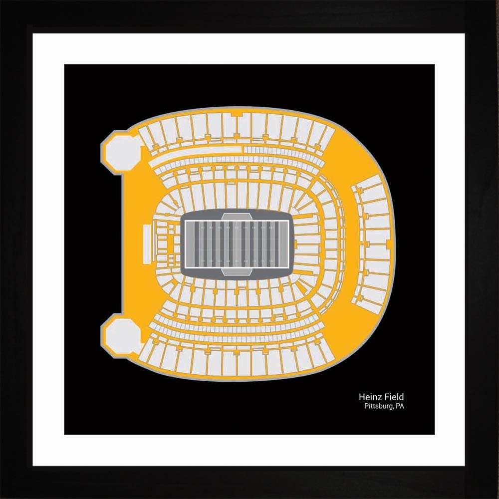 Heinz Field, Pittsburgh Steelers, 16x16