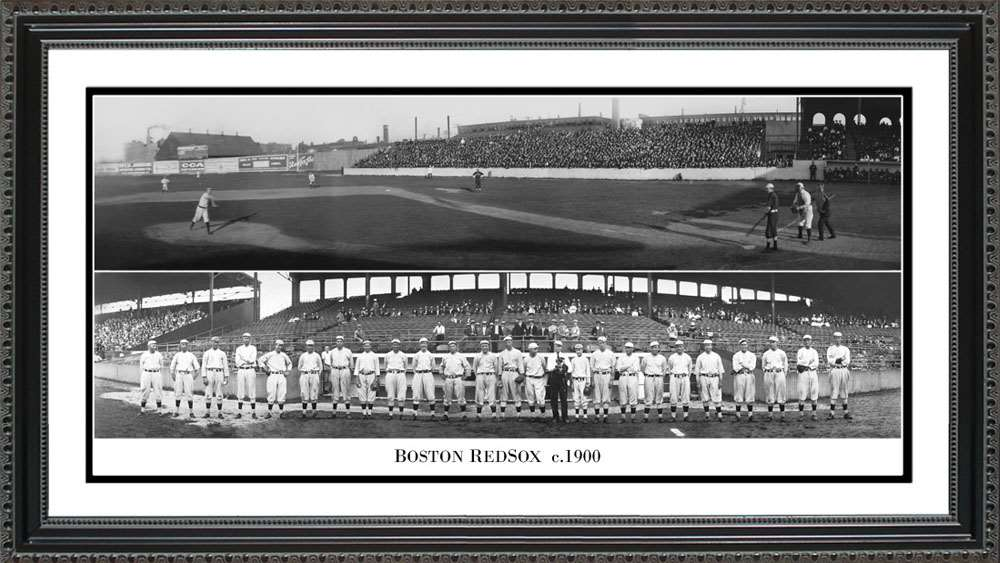 Boston Red Sox 1900, 24x12