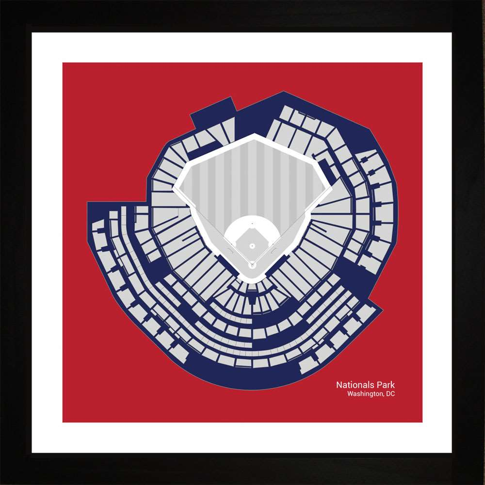 Nationals Park, Washington Nationals, 16x16