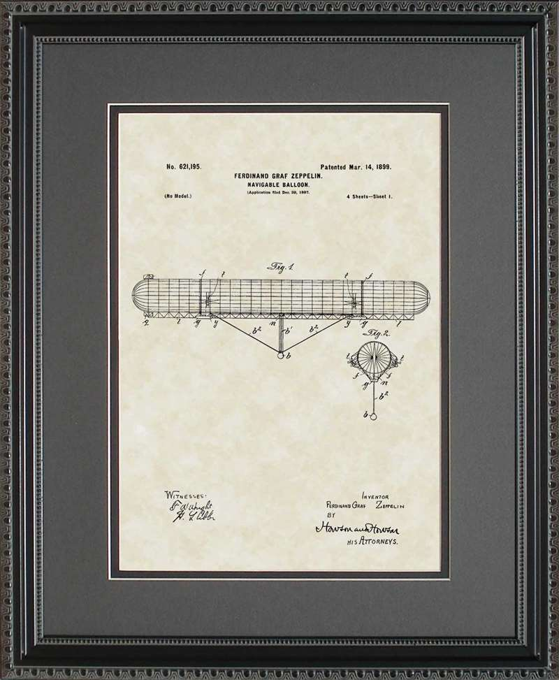 Lighter-than-Air-Craft Patent Art, Zeppelin, 1899
