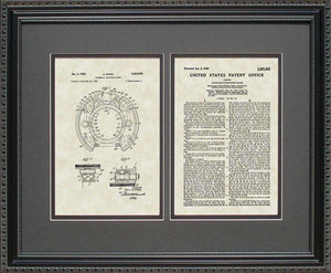 Drum Brakes Patent, Art & Copy, Zipper, 1950, 16x20
