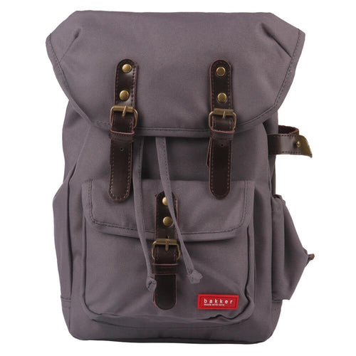 BACKPACK HIPHIP | cordura old school - grey | - bakker made with love