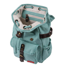 Load image into Gallery viewer, BACKPACK HIPHIP | cordura old school - turquoise | - bakker made with love