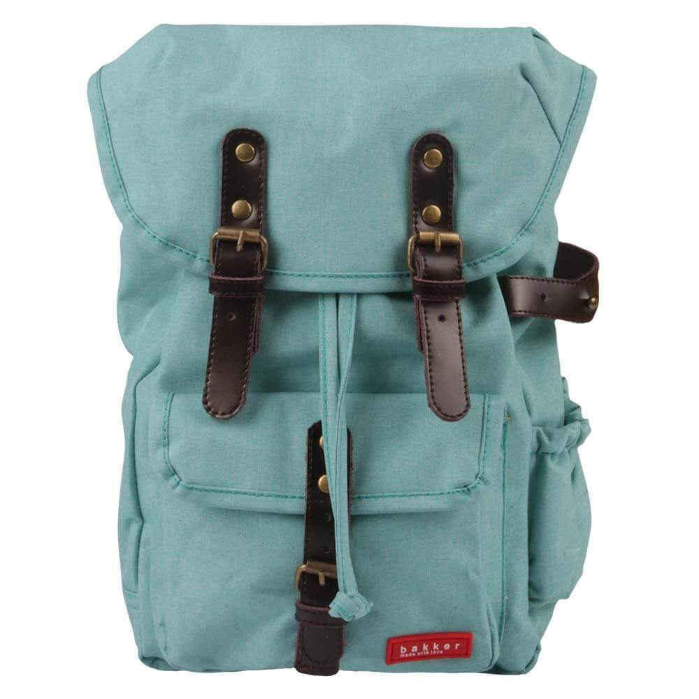BACKPACK HIPHIP | cordura old school - turquoise | - bakker made with love
