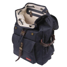 Load image into Gallery viewer, BACKPACK HURRAY | cordura old school - navy | - bakker made with love