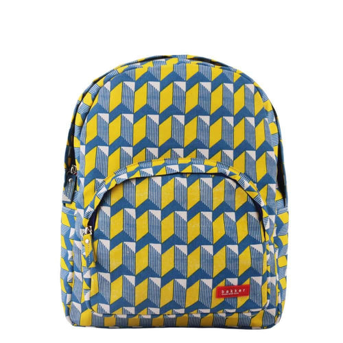 BACKPACK MINI | canvas bakker - watanabe yellow | - bakker made with love