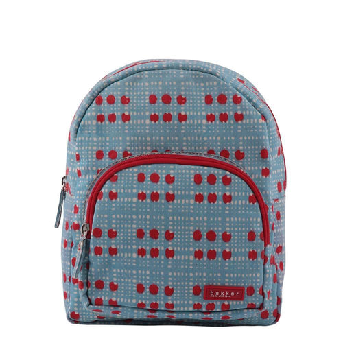 BACKPACK MINI | canvas capsule - reiko sky | - bakker made with love
