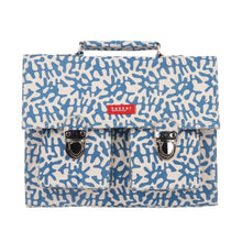 Load image into Gallery viewer, CARTABLE MINI BRETELLES | capsule - tropik blue | - bakker made with love