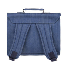 Load image into Gallery viewer, CARTABLE MINI BRETELLES | jean - medium blue | - bakker made with love