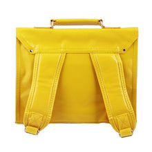 Load image into Gallery viewer, CARTABLE MINI BRETELLES |vinyl - vinyl yellow | - bakker made with love