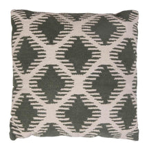 Load image into Gallery viewer, CUSHION | toubkal 45 x 45 cm | Diamond Khaki | - bakker made with love